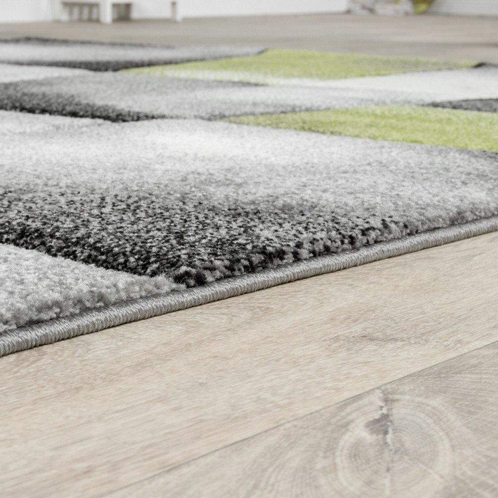T T Design Teppich Grau Grau Teppich Grun Wohnzimmer Teppiche