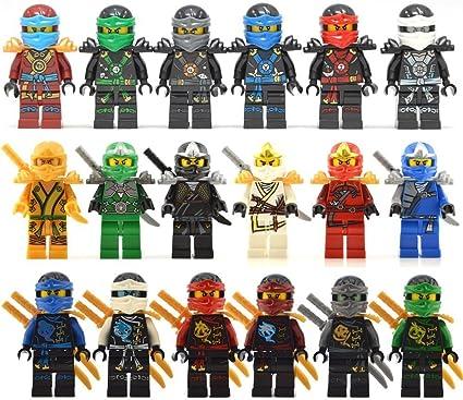 Amazon.com: Linx Action Figure Ninja Heroes: Toys & Games