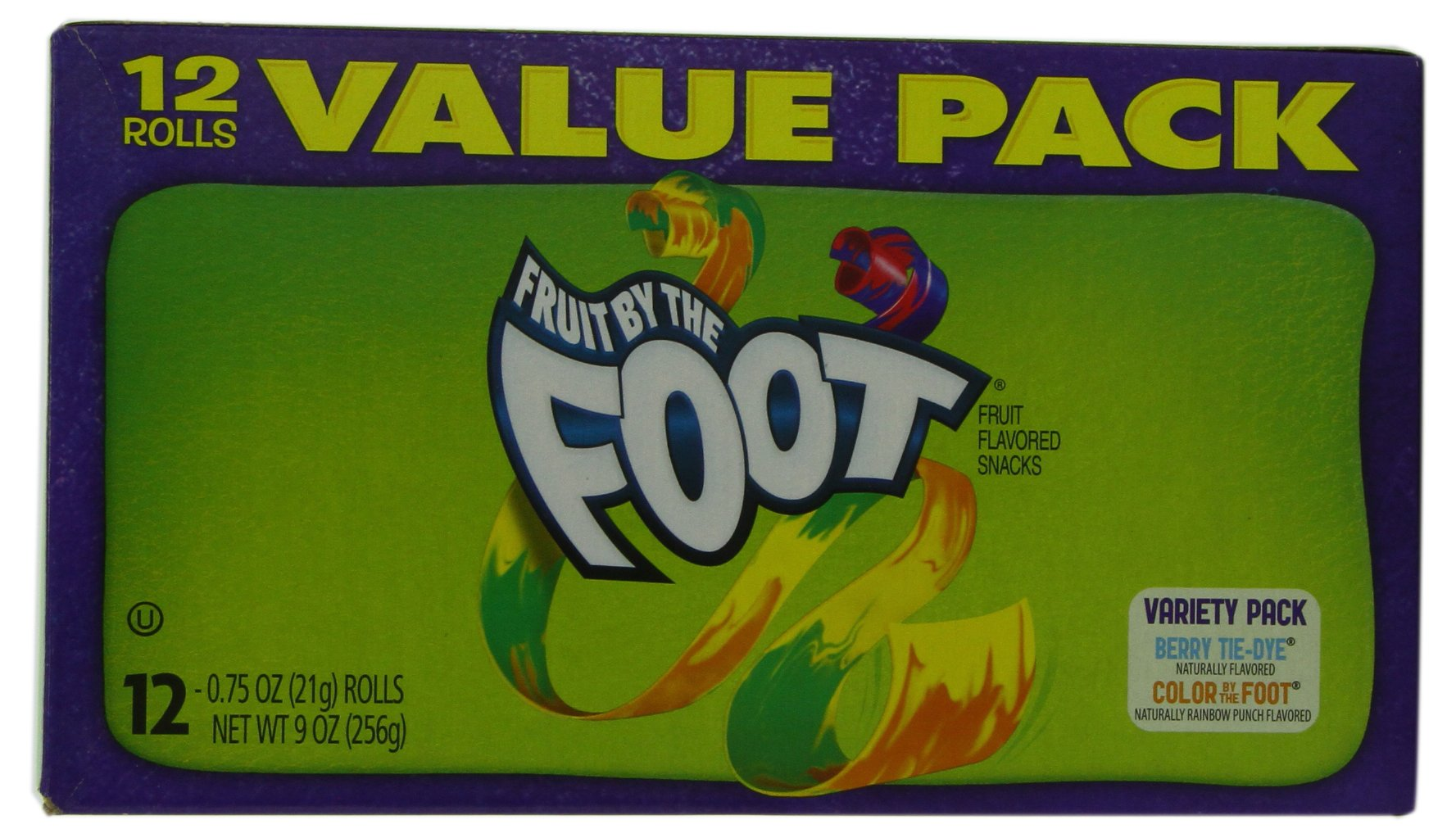 Betty Crocker Fruit Snacks, Fruit by the Foot, Variety Snack Pack, 12 Rolls, 0.75 oz Each (Pack of 6) by Fruit by the Foot (Image #5)