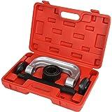 Timbertech 3-in-1 Kugelgelenk Abzieher-/Ausdrückerset Kugelgelenkabzieher Werkzeug verhindert Schäden von Kugelgelenken im Kunststoffkoffer