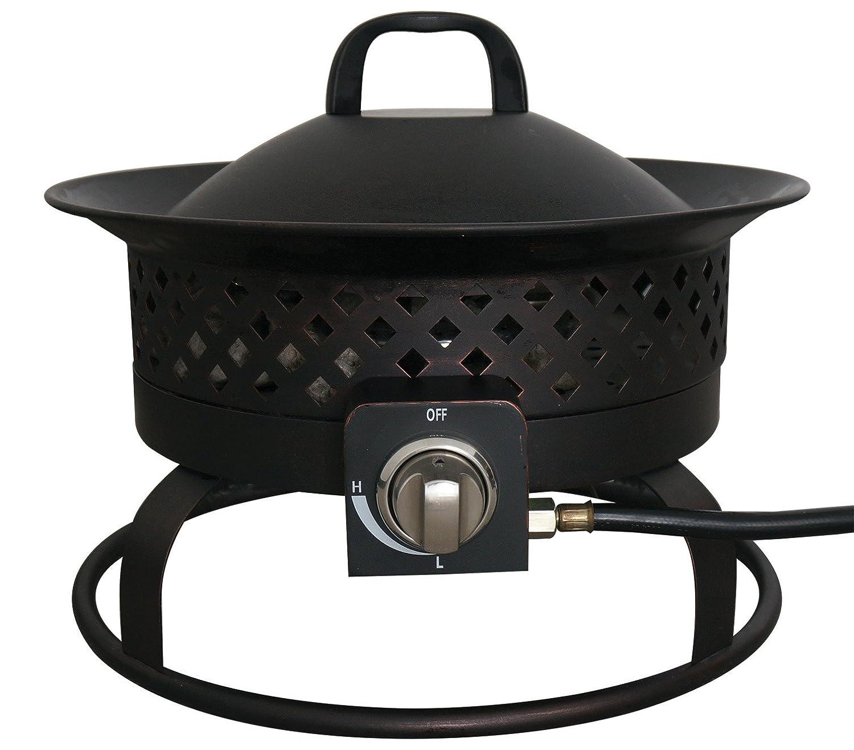 Bond 67836 Aurora Steel Gas Fire bowl