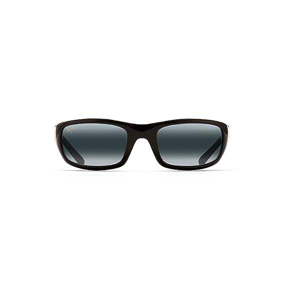 34aa65a976e7 MAUI JIM STINGRAY 103-02 BLACK GREY POLARIZED SUNGLASSES  Amazon.co.uk   Clothing
