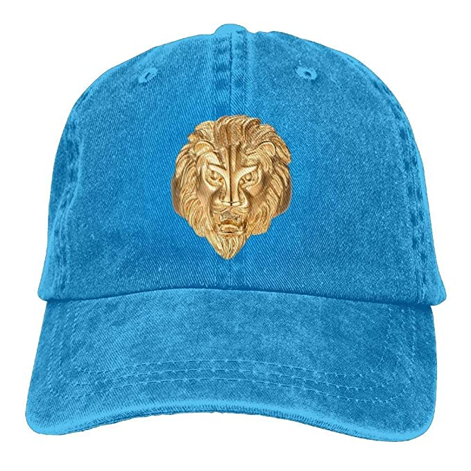 WENEOO LA Vintage Gold Lion King Snapback Cotton Hat  Amazon.ca  Clothing    Accessories 7b266a8867b