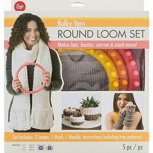 Amazon Boye 3702202001 Circular Bulky Loom Set