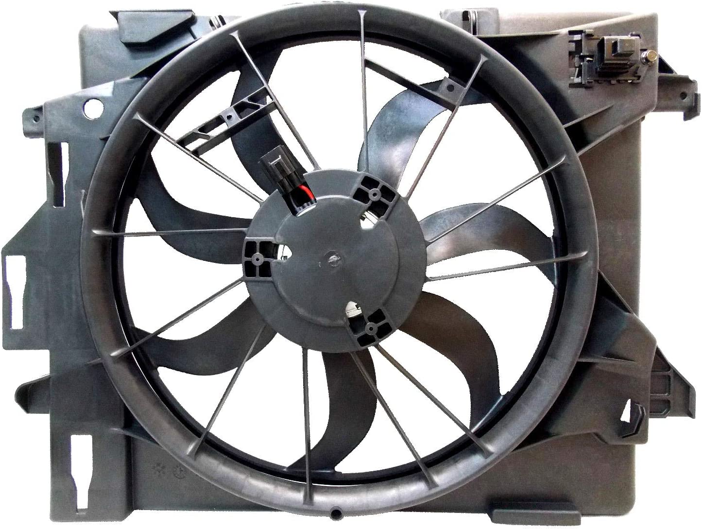 Sunbelt Radiator And Condenser Fan For Dodge Grand Caravan Chrysler CH3115157 Drop in Fitment