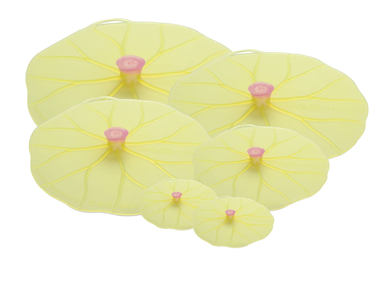 Charles Viancin AGS10996 Lilypad Lid Set of 6
