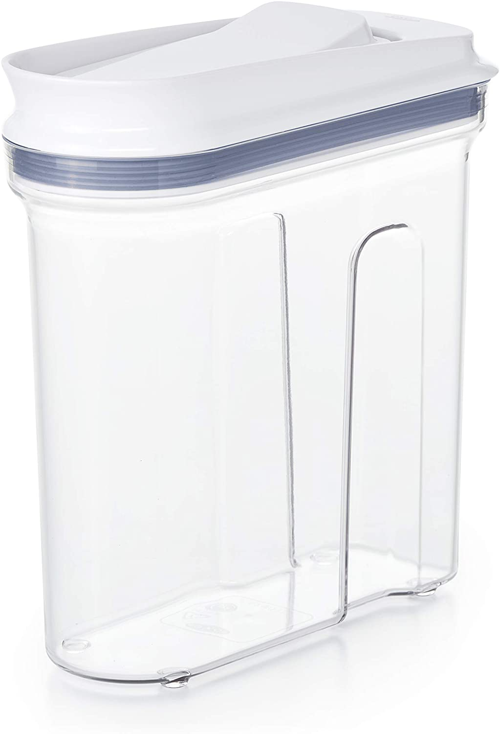 OXO Good Grips Mini All Purpose Dispenser – 1.2 Qt for Nuts and More,Clear,1.2 Qt - Nuts