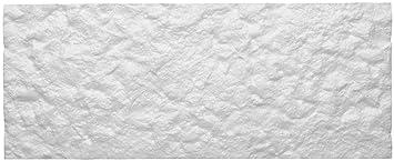 Bruchstein-Optik wei/ß = 0,5 qm DECOSA Creativstein Rosso 1 Packst/ück /à 5 Steine 20 x 50 cm