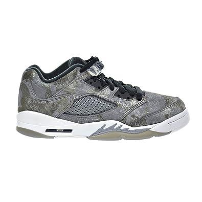 buy popular 34d6c 7b9e6 Jordan Air 5 Retro Prem Low GG Big Kid s Shoes Cool Grey Wolf Grey