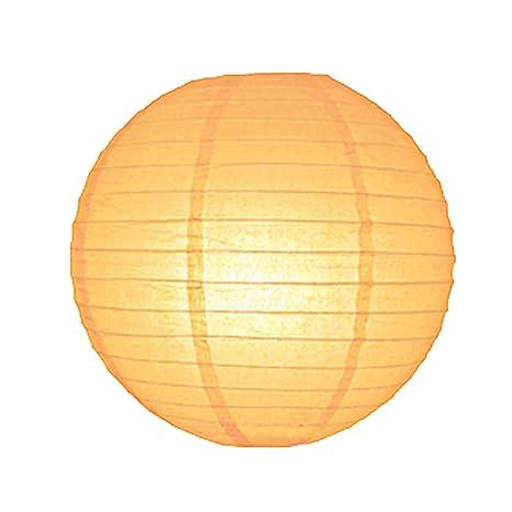 6712-PY 30 cm Papaya linterna de papel lámpara de techo ...