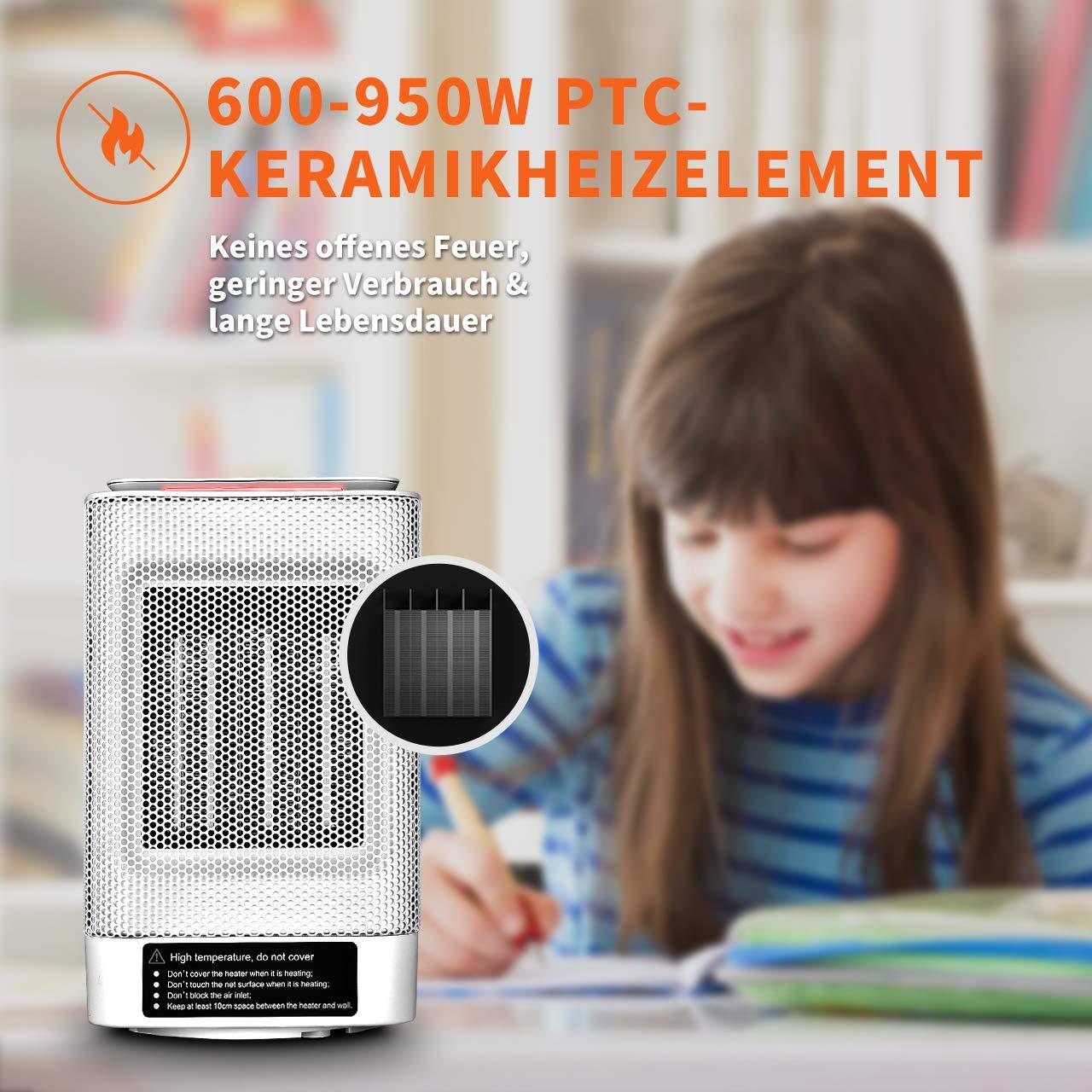 douhe 600w heizlfter mini heizung elektroheizer heizgert. Black Bedroom Furniture Sets. Home Design Ideas