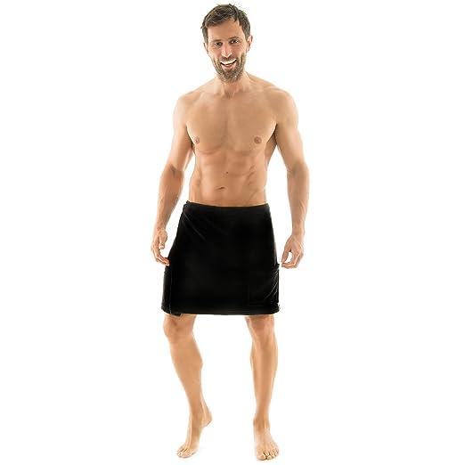 Toalla para sauna Celinatex para hombre con diseño de forro polar ...
