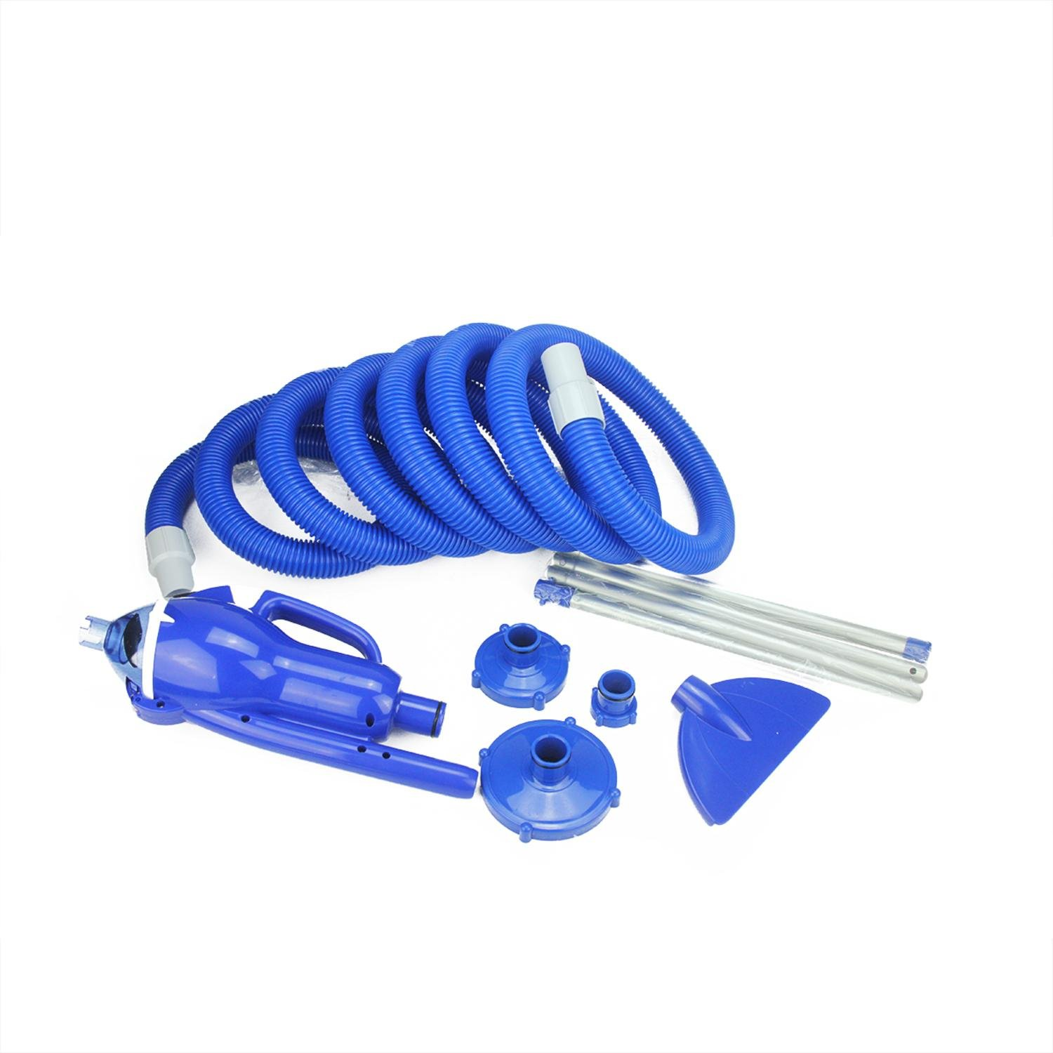 Blue and White EZ Pool Vacuum System for Inflatable, Framed and Above Ground Pools by Pool Central (Image #2)