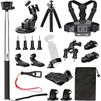 Neewer 20-in-1 Expansion Accessory Kit for DJI Osmo Pocket Handheld Camera: Chest Strap, Bike Mount, Backpack Clip…
