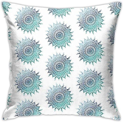 18 Mandala Throw Pillow Case Couch Cushion Cover Pillowcase Home Sofa Car Decor Home Décor Home Décor Pillows