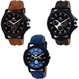 Armado Analog Combo Of 3 Modish Watches For Men-AR-621251