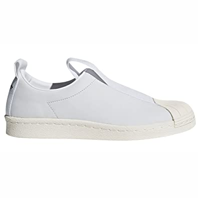 385733eb38 adidas Originals Superstar BW Slip-on Nobuk Noir et Blanc CQ2517 et CQ2518  Sneakers Basses