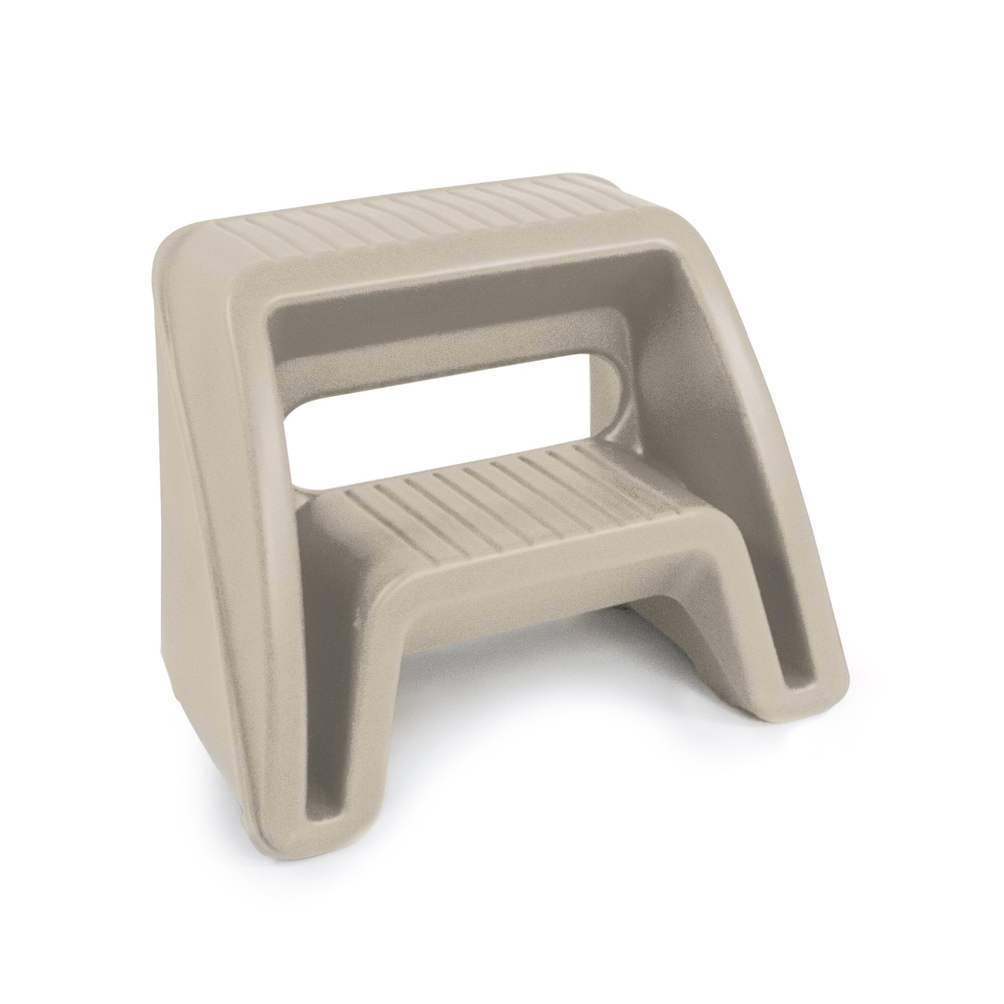 Simplay3 Handy Home 2 Step Plastic Stool, 16'' Top Step