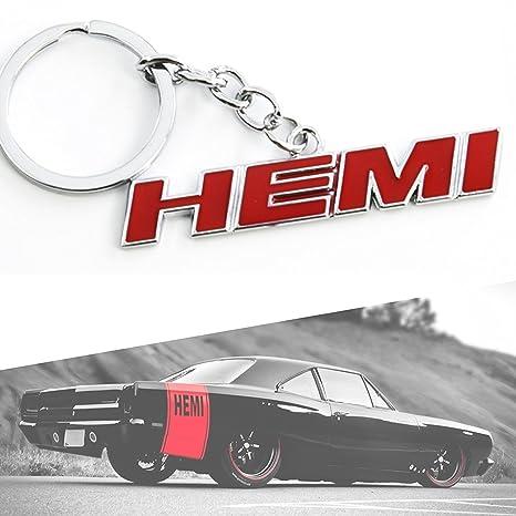 Amazon.com: 1 x Hemi 3d metal Llavero Anillo 3d clave Cadena ...