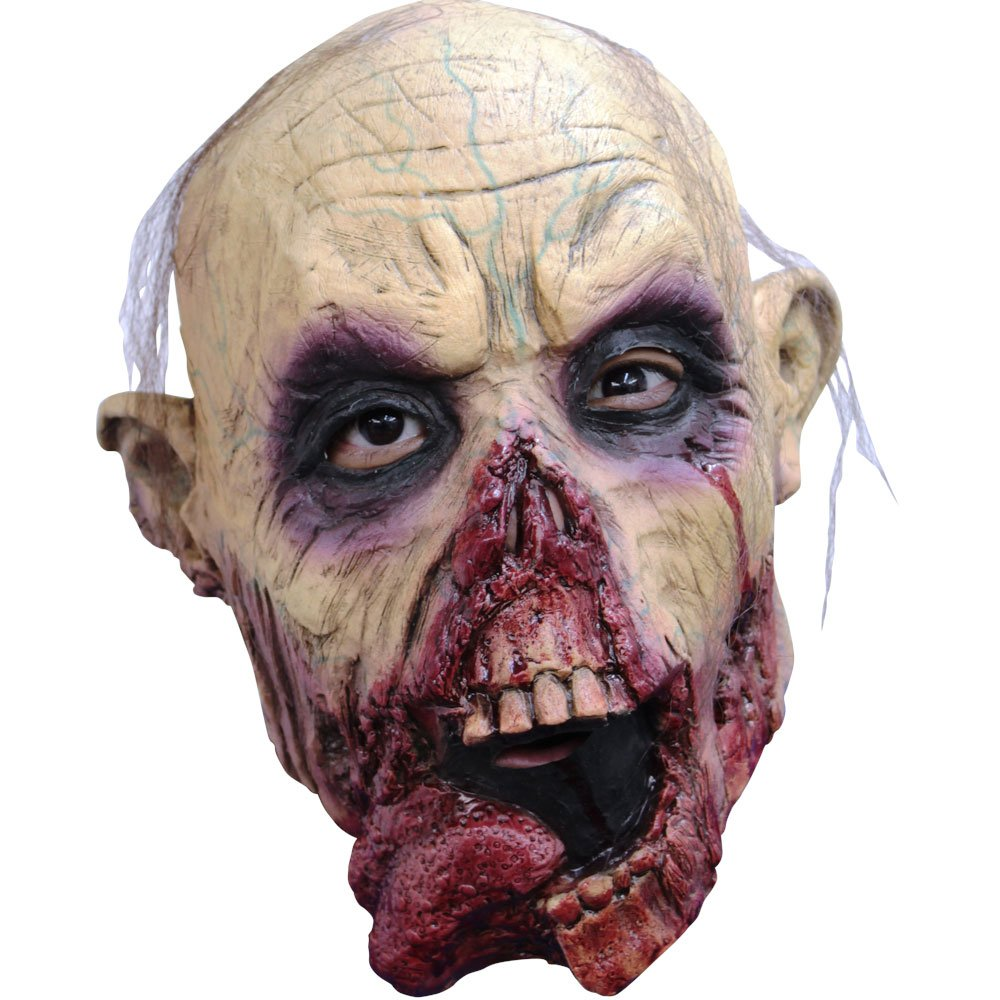 Ghoulish Masks Zombie Tongue Jr Teen Mask Standard Morris Costumes 1330-TB25416