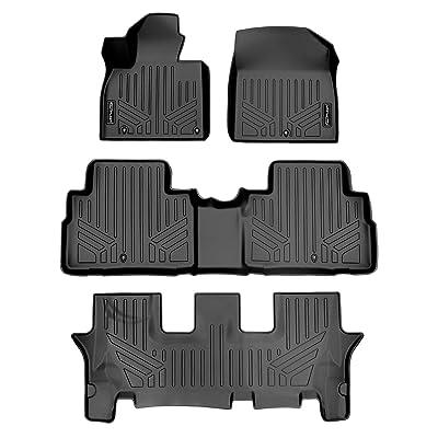 SMARTLINER SA0417/B0417/C0417 for 2020 Kia Telluride, Black: Automotive