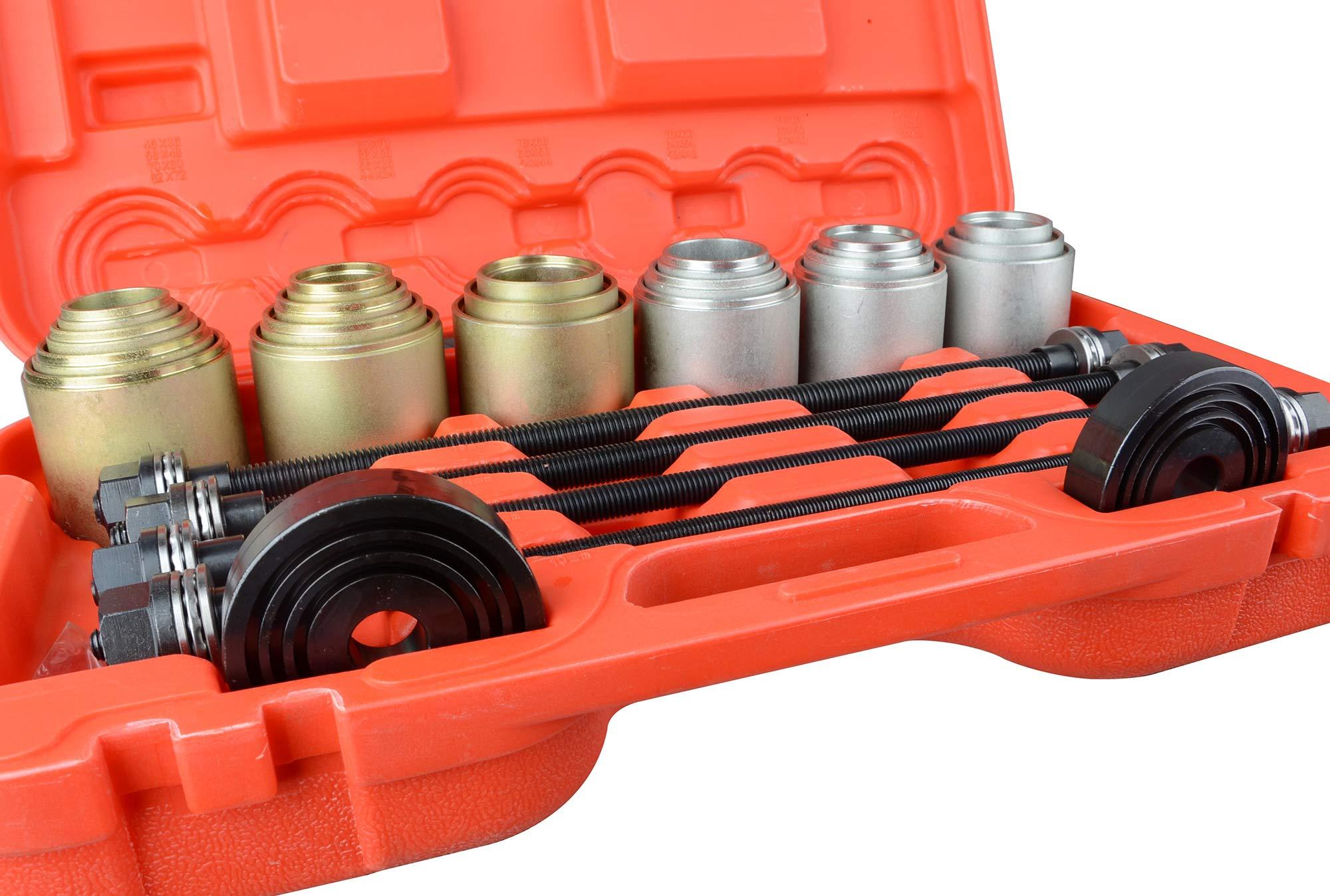 DA YUAN Universal Press and Pull Sleeve Remove Install Bushes Bearings Garage Tool Kit by DA YUAN (Image #3)