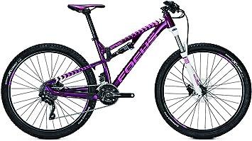 Bicicleta de montaña Focus Spine Elite Donna 20G Shimano XT 27 para mujer, altura del marco: 42; color: Deeppurple: Amazon.es: Deportes y aire libre