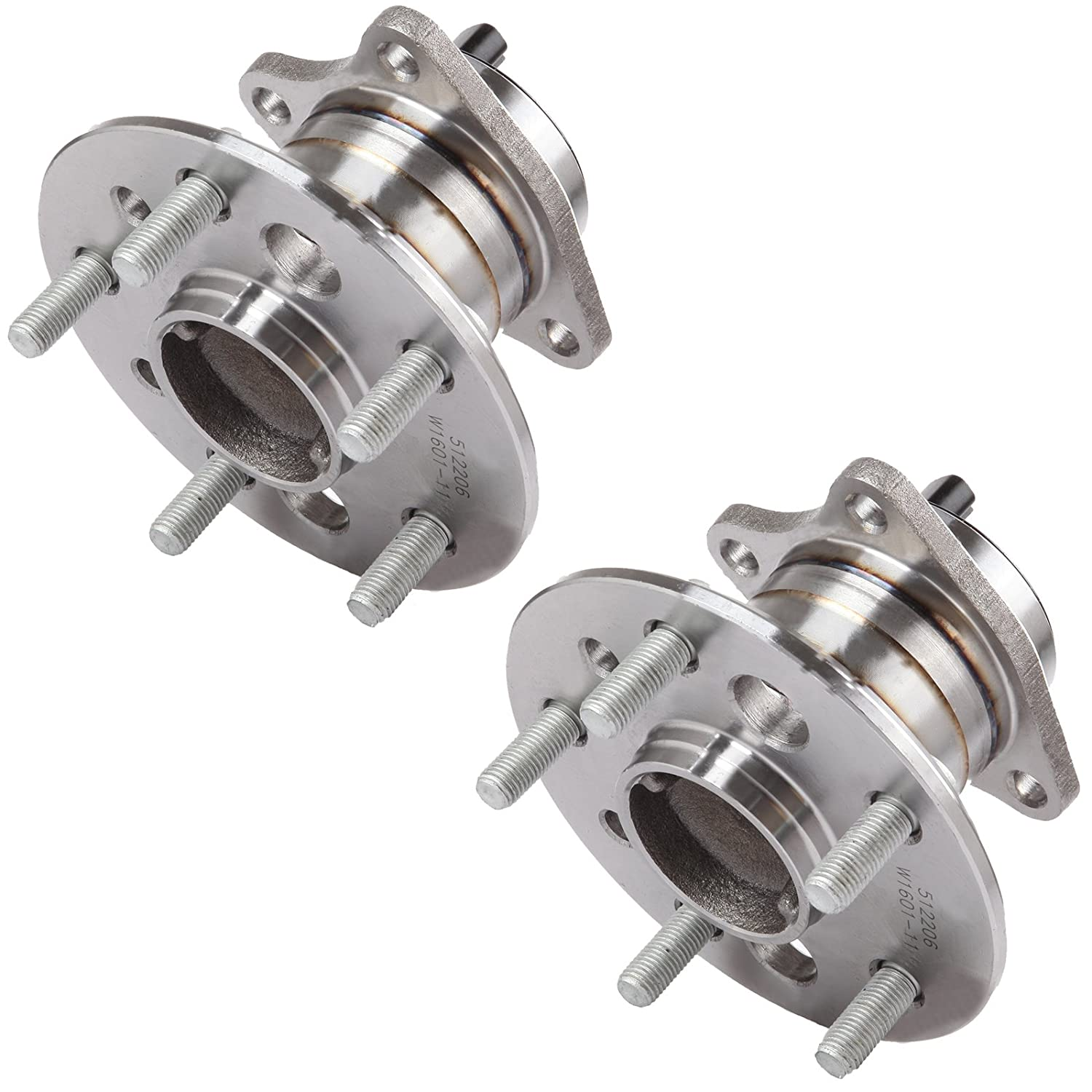 SCITOO 512206 Rear Wheel Hub Bearing Assembly fit 2005-2012 Toyota Lexus 5 Lugs w//ABS