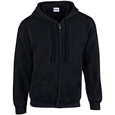 d03a749f9 GILDAN Mens Heavy Blend Zipped Hooded Sweatshirt  Amazon.co.uk  Clothing