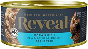 Reveal - Grain Free   Wet Canned Cat Food   2.47oz Cans - Premium Nutrition, 100% Natural, No Additives, and Limited Ingredients