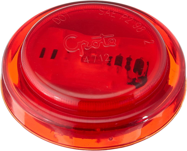 Grote 47122 Red SuperNova 2 1//2 LED Clearance Marker Lights