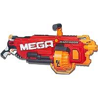 Nerf Mega - Mastodon Motorised Blaster inc 24 official Mega Darts - Kids Toys and Outdoor games - Ages 8+