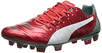 dc3d895f84d PUMA Men s Evo Power 1.2 Graphic Firm-Ground Soccer Cleat