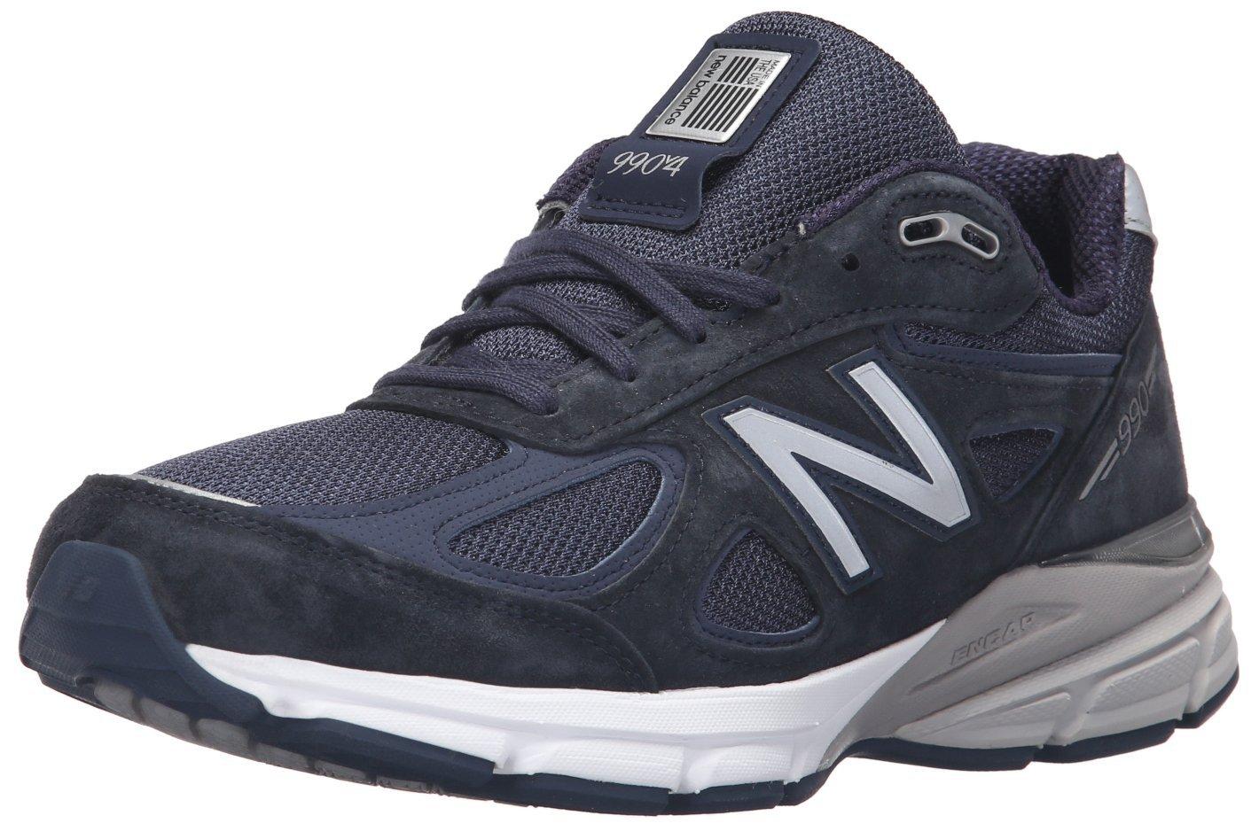 New Balance Men's 990V4 Running Shoe B0163GAD2Y 9 B US|Navy