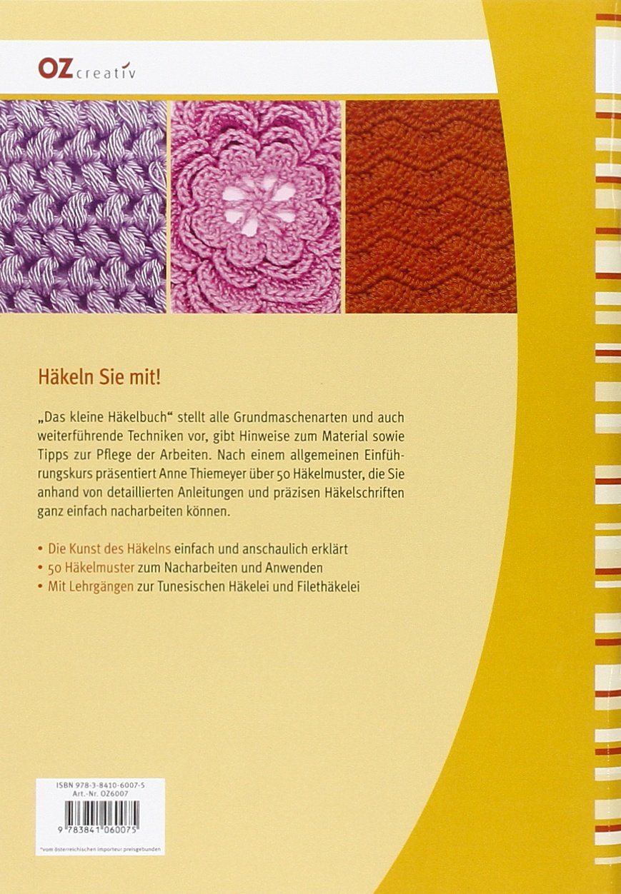 Das kleine Häkelbuch: Zauberhafte Muster, Motive & Bordüren: Amazon ...