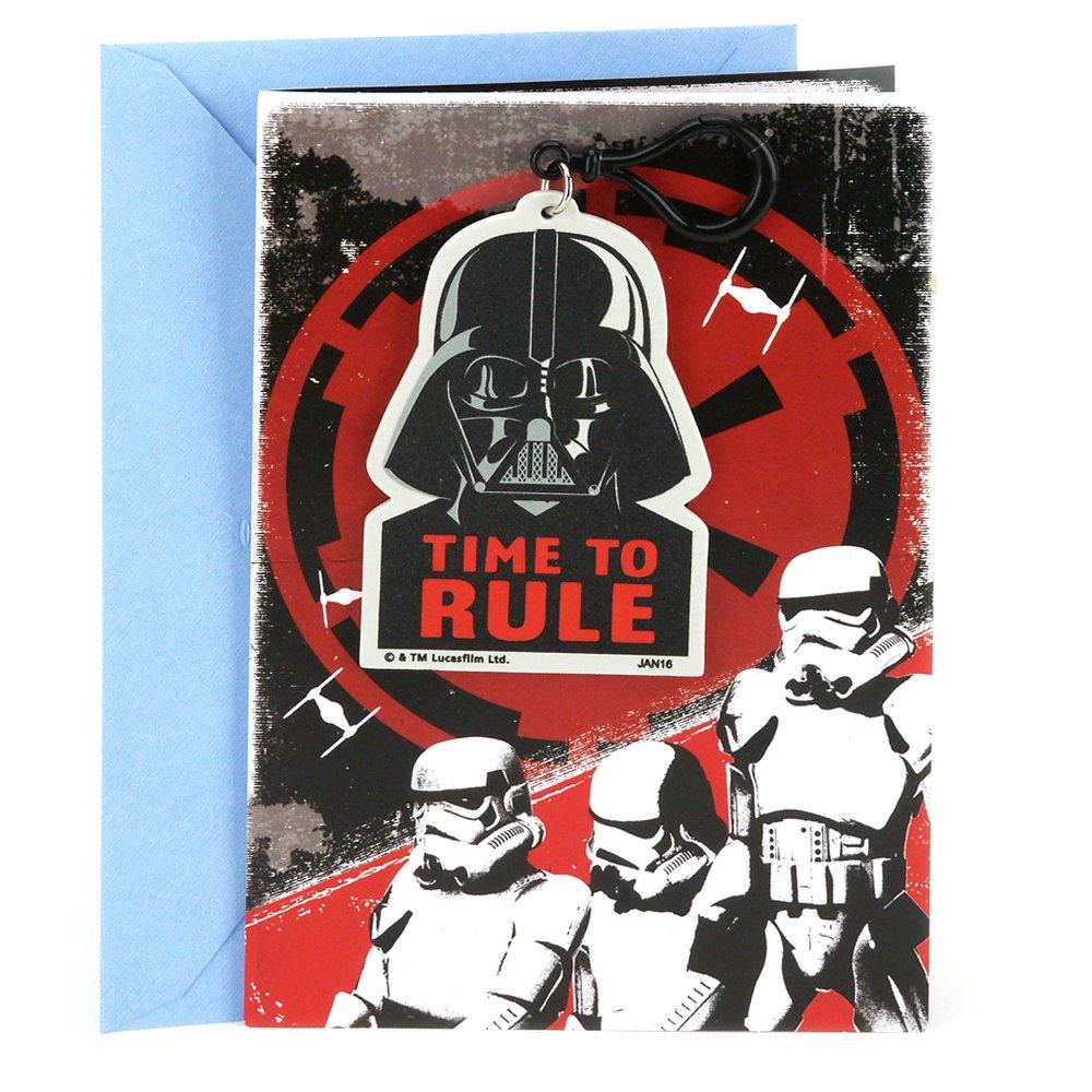 Amazon Hallmark Star Wars Birthday Card Darth Vader Backpack