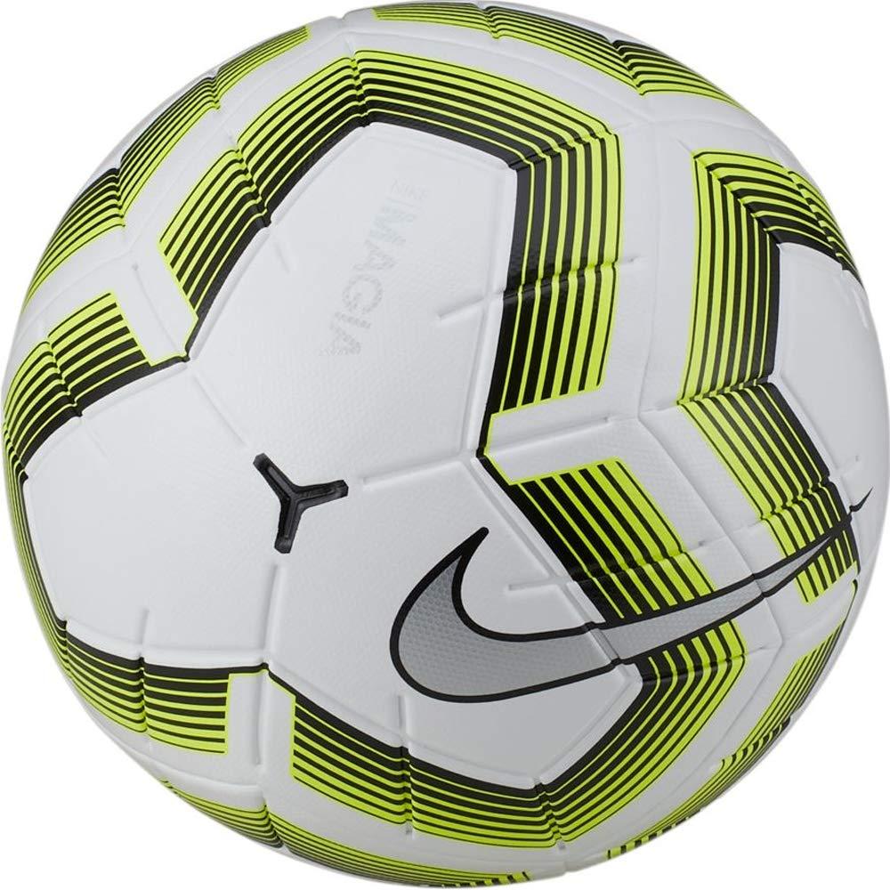 Nike Magia Team II NFHS Soccer Ball- (White/Black/Volt): Amazon.es ...