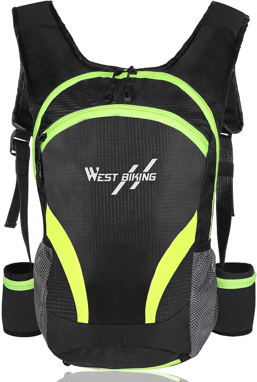 WEST BIKING Ultralight Bicycle Bag Portable Waterproof Sport Cycling Backpack10L