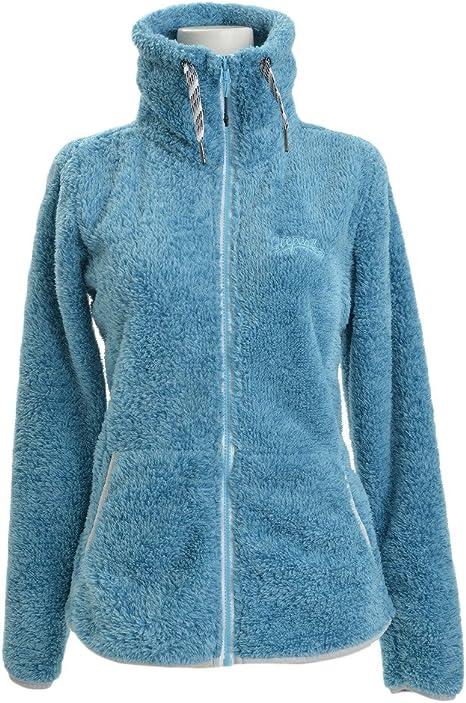 UC608 Ladies Classic Full Zip Fleece Jacket 300 GSM - Royal Small