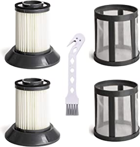 2 Pack Replacement Filter for Bissell Zing Dirt Bin 6489, 64892, 64894 Vacuum Cleaner,Replace Part # 203-1772, 203-1532