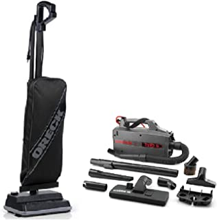 amazon com oreck xl classic upright vacuum cleaner lightest oreck xl classic upright vacuum cleaner lightest weight 8 lbs black power bundle oreck