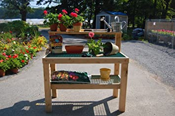 garden work bench able table by maine garden products - Garden Work Bench
