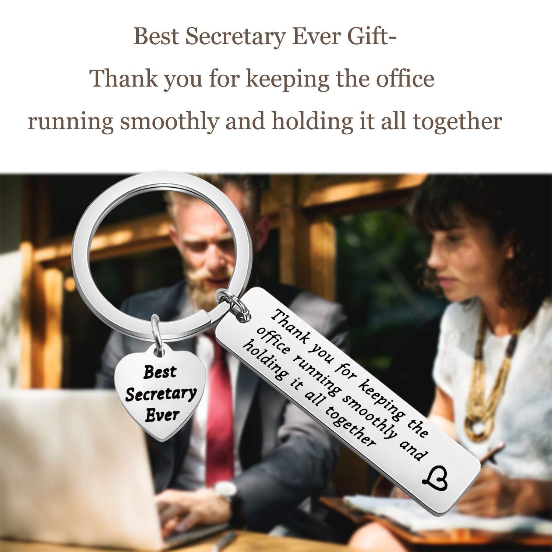 Lywjyb Birdgot Secretary Gift Office Secretary Appreciation Gift Best Secretary Gift Secretarys Day Gift Retirement Gift for Office Worker Thank You Gift for School Secretary