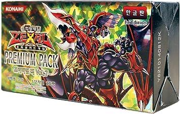 Yu-Gi-Oh! Konami Yugioh Cartas ZEXAL Booster Pack Caja TCG OCG 100 Cartas Premium Pack Vol.7 Corea Ver: Amazon.es: Juguetes y juegos