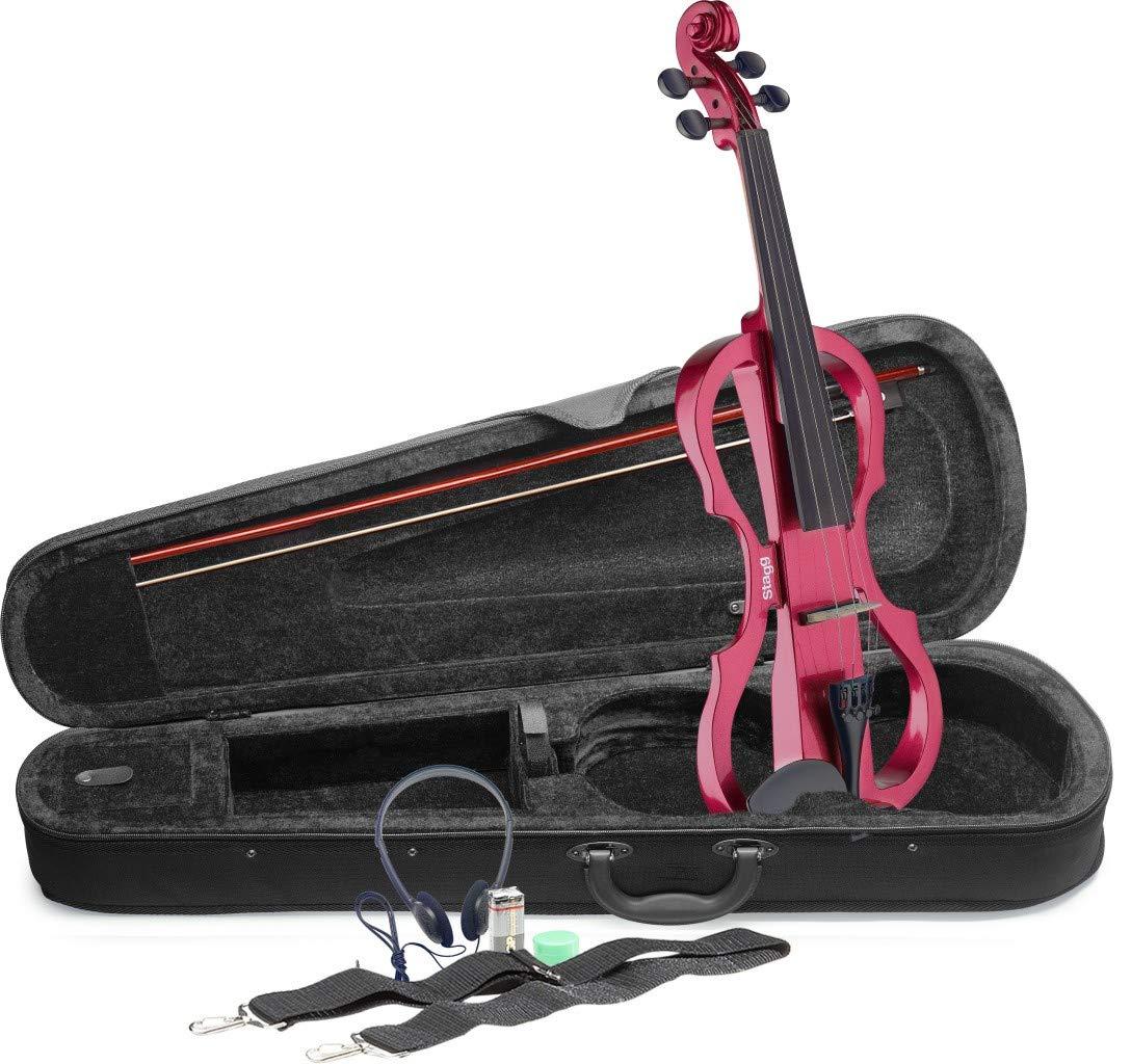Stagg EVN X-4/4 MRD Electric Violin by Stagg
