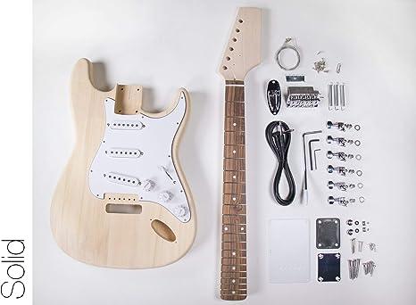 DIY Kit de guitarra eléctrica – Strat estilo construir tu propia ...
