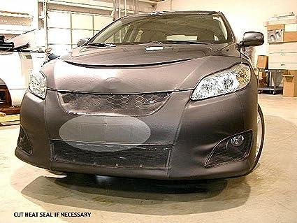 Lebra 2 Piece Front End Cover Black Car Mask Bra Fits Toyota Matrix 2009 2013 Base Model S Models 2011 2013 Both Without Sport Package