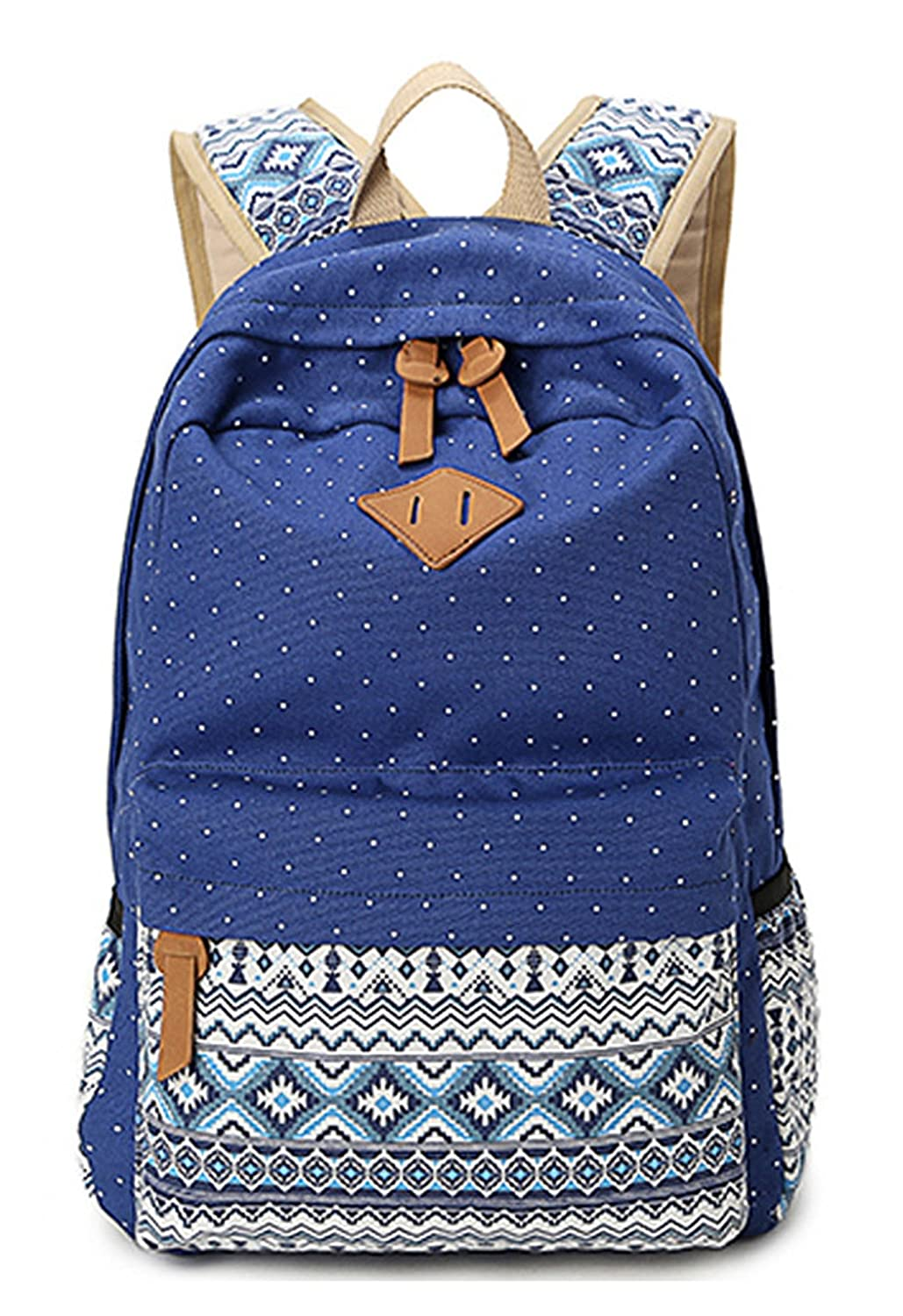 Longzibog Canvas 2016 New Backpack Bag, Fashion Cute Lightweight Backpacks for Teen Young Girls