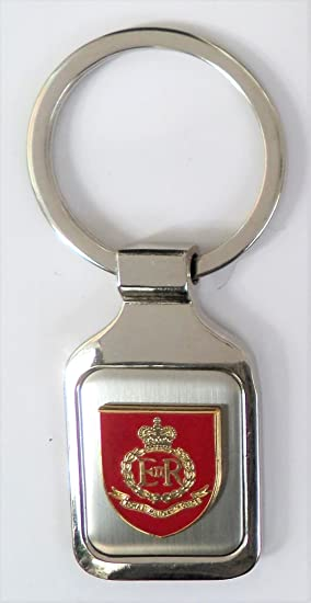 Ejército británico Royal Policía Militar acero pulido ...