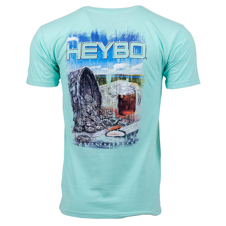 29b251cc Amazon.com: Heybo Southern By Choice Shuckin Short Sleeve T-Shirt: Clothing
